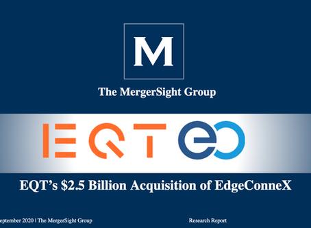 EQT to acquire global data center provider EdgeConneX