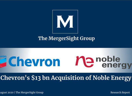 Chevron's $13 bn Acquisition of Noble Energy