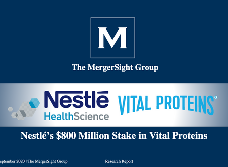 Nestlé Health Sciences Acquires Majority Stake in Vital Proteins