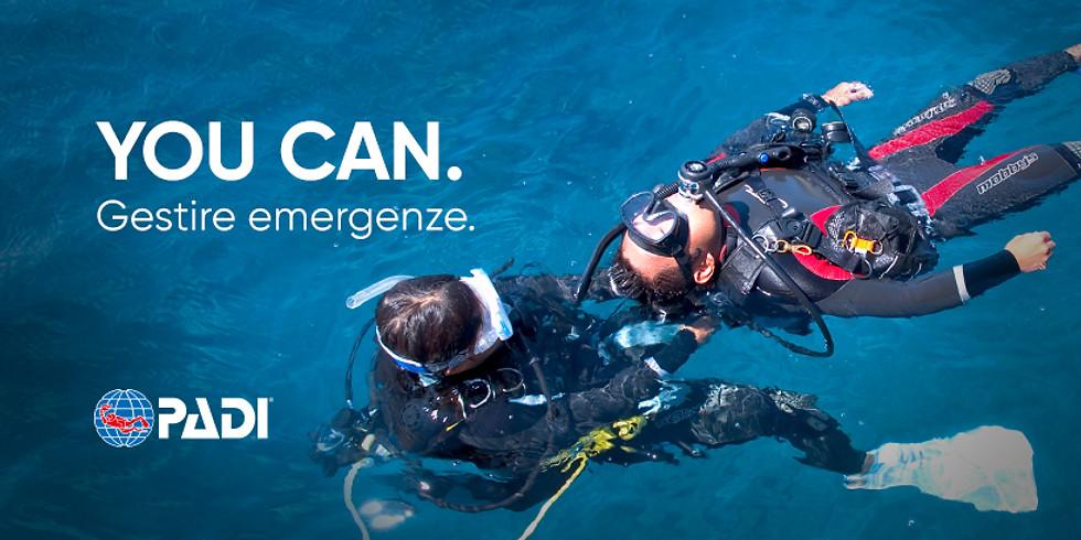 Corso rescue diver
