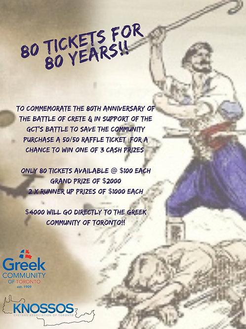 Battle of Crete Raffle