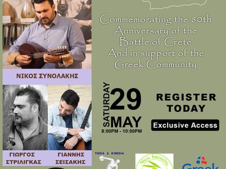 Battle of Crete Live Concert