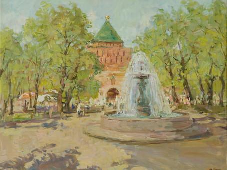 Нижегородские пейзажи художников-легенд на стенах Галереи вкуса «Парк Культуры»