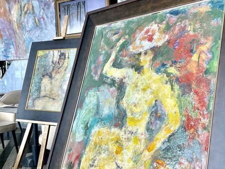 Пленительная женская красота на полотнах в Галерее вкуса «Парк Культуры»