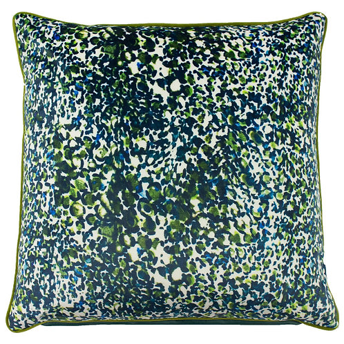 Mika Cushion - Green/Teal 50cm x 50cm