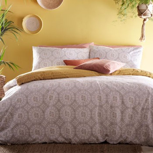 Mandala Duvet Set - Grey