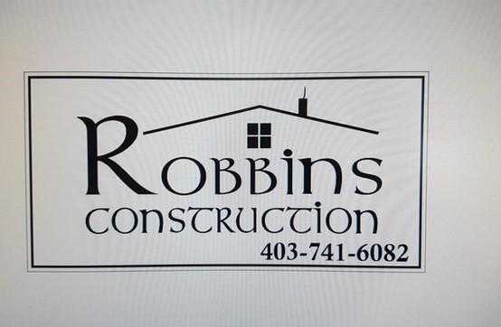 Robbins Construction Logo Design