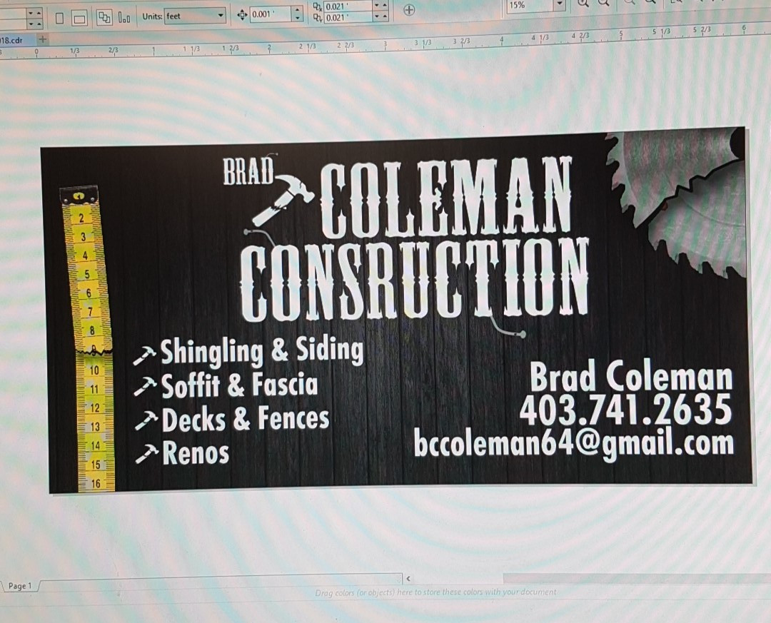 Coleman Construction Logo Design