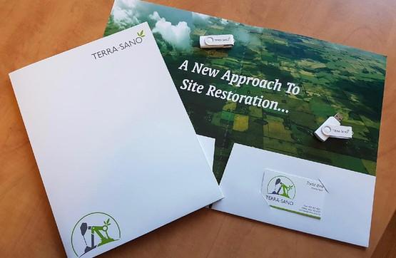 Terra-Sano Business Stationary