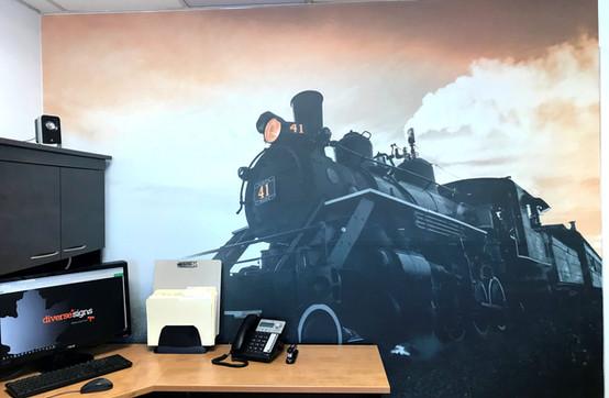 Train Wall Art