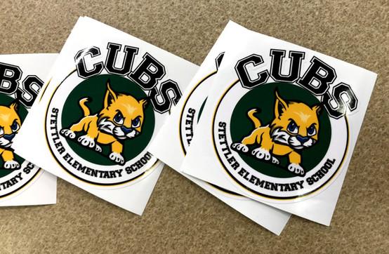 Stettler Elementary School Logo Design