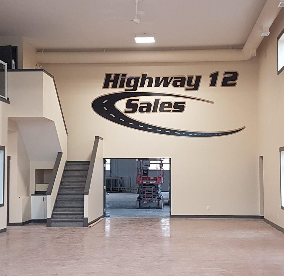Highway 12 Sales Wall Art