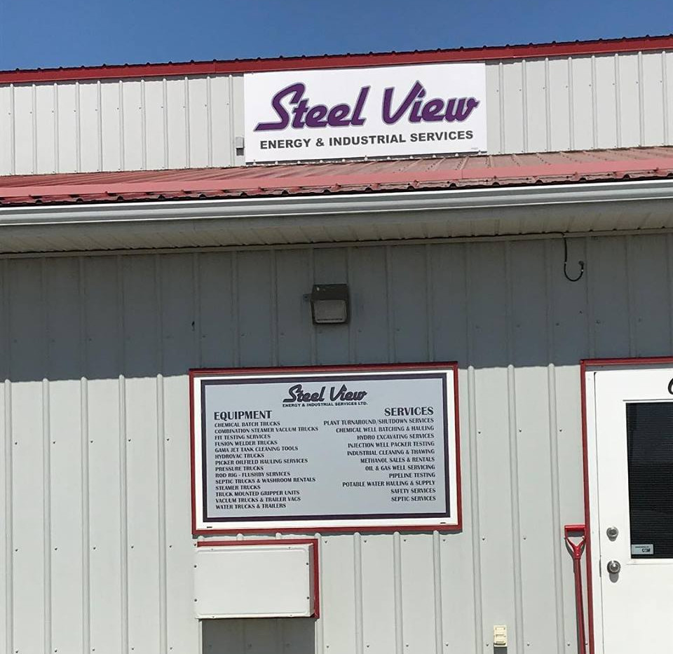 Steel View Signs