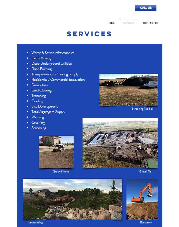 Wally's Backhoe Services Ltd 2 Website.J