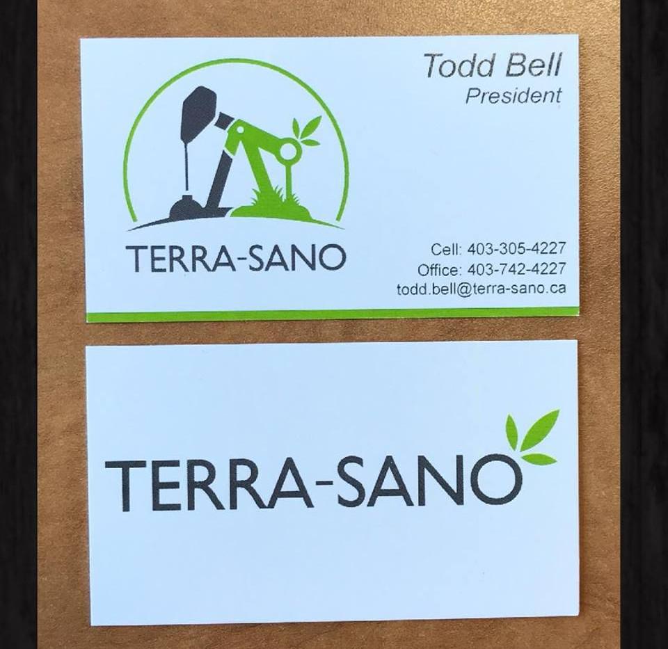 Terra-Sano Business Cards