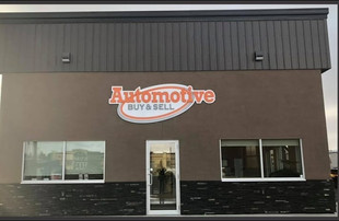Automotive Buy & Sell Building Sign
