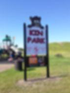 Kin Park Sign