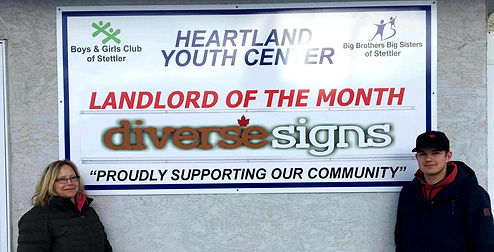 Heartland Youth Center Landlord of the M