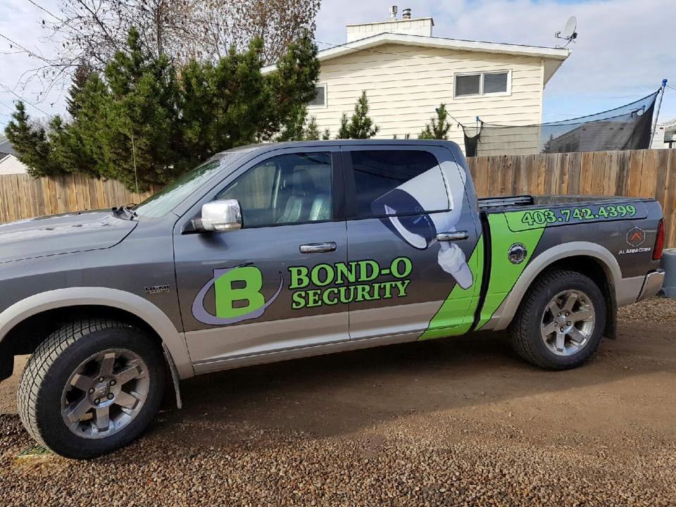 Bond-O Security Truck
