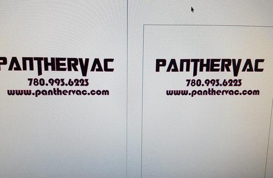 PantherVac Logo Design
