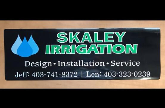 Skaley Irrigation Logo Design