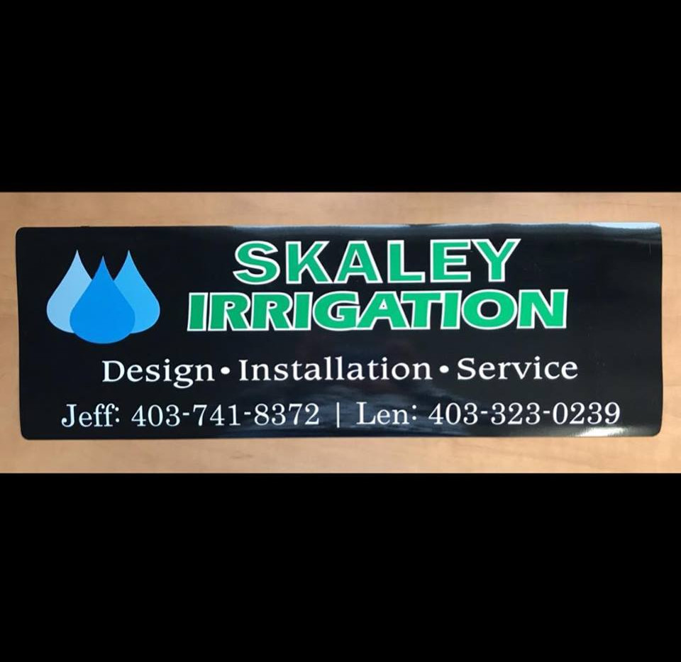 Skaley Irrigation Logo Design