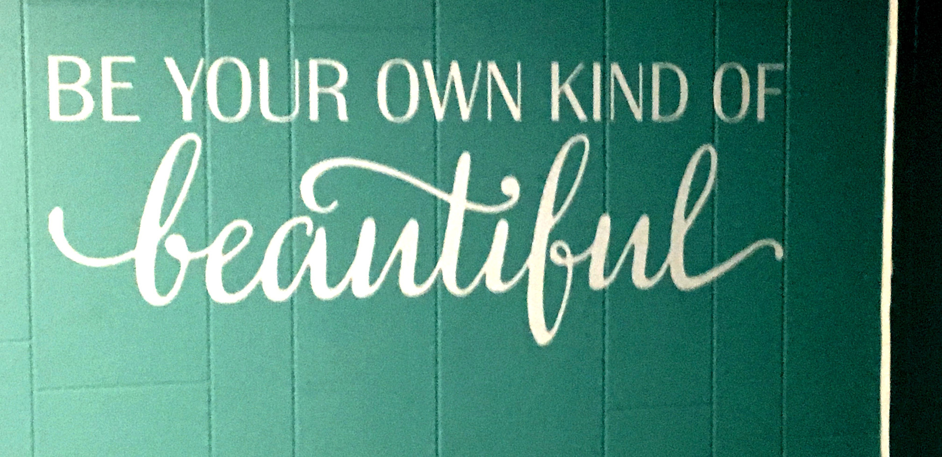 Katlyne's Be Your Own Kind Of Beautiful
