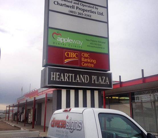 Business Centre Signs