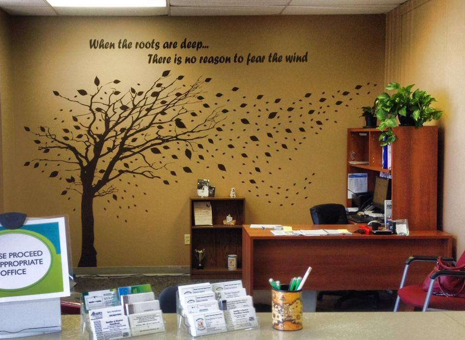 Tree & Quote Wall Art