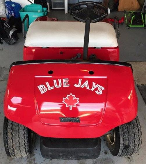 Blue Jays Golf Cart Decals