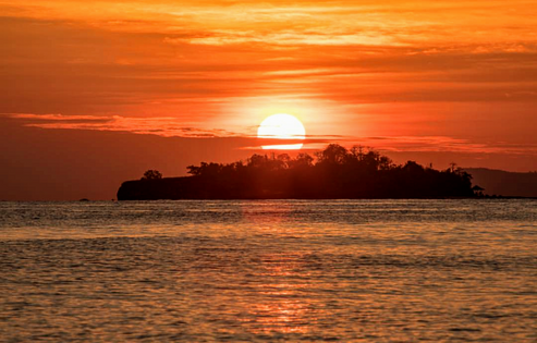 The Flying Chef   tropical island sunrise