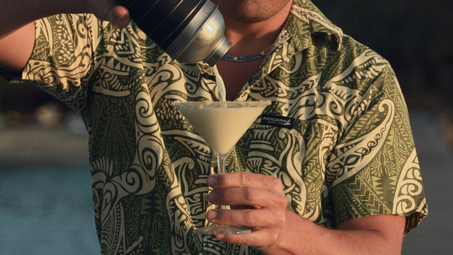The Flying Chef | the key lime martini