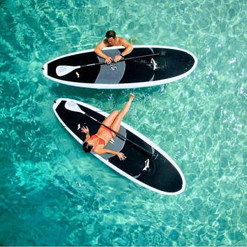 The Flying Chef   stand up paddle boarding