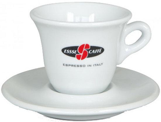סט שני ספלים ותחתיות ESSSE CAFFE