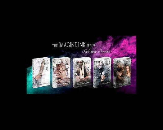 Signed Imagine Ink Paperbacks (Books 1-5)