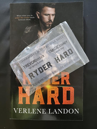 Ryder Hard Signed Paperback + Character Scented Wax Melts