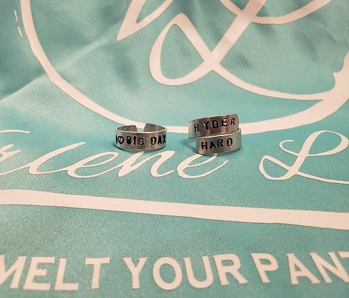 Metal Stamped Ring