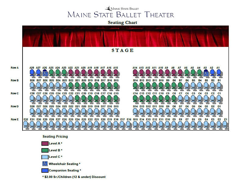 Maine State Ballet: Dance School for the Performing Arts ...