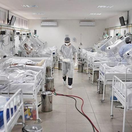 25 cachoeirenses com coronavírus seguem internados no HCB