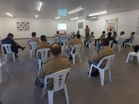 Comandante Regional apresenta o Programa de Vigilância Colaborativa em Cachoeira do Sul