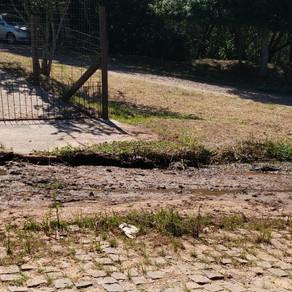 Leitor reclama a falta de saneamento no bairro Otaviano