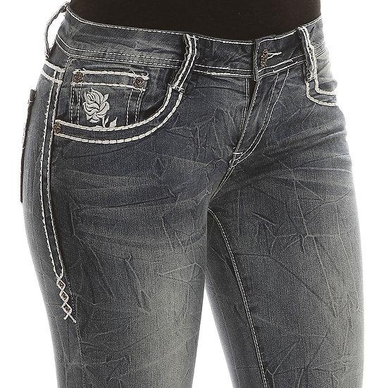 Rose Vintage Skinny Jeans (1R15-WCKL)