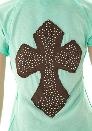 Mint Short Sleeve Tee (000323)