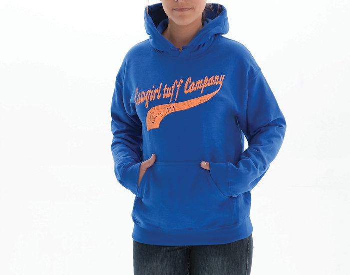 Royal Blue Hooded Sweatshirt (S00608)