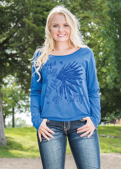 Royal long sleeve tee (S00830)