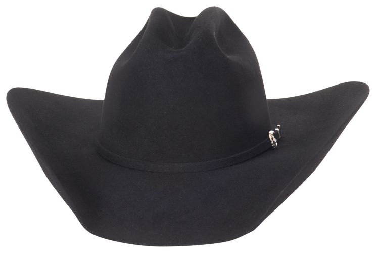 Classic Black Western Hat