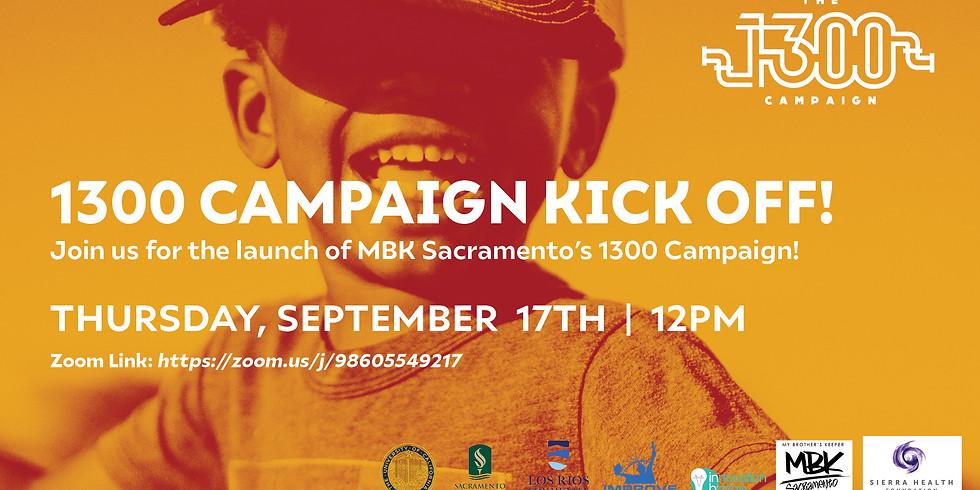 1300 Campaign Launch