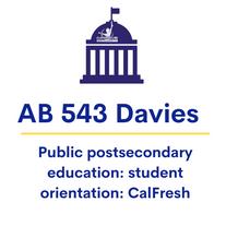 AB 543 Davies