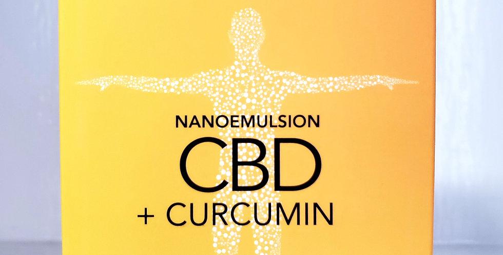 CBD Soft Gels + Curcumin