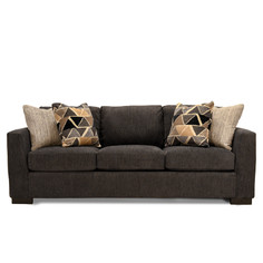 1312 Promise Charcoal with Raduis Bark Pillows